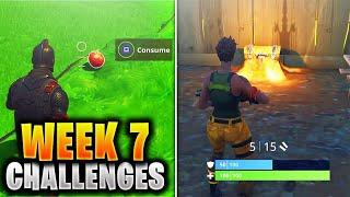 ALL WEEK 7 Challenges Guide Fortnite SEASON 5 (Fortnite Week 7 Challenges) Tutorial