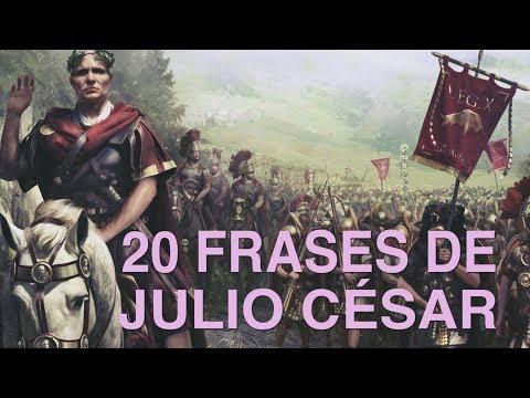 20 Frases de Julio César l El hábil estratega conquistador