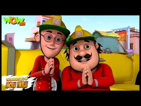 The Fire Fighter - Motu Patlu in Hindi WITH ENGLISH, SPANISH & FRENCH SUBTITLES