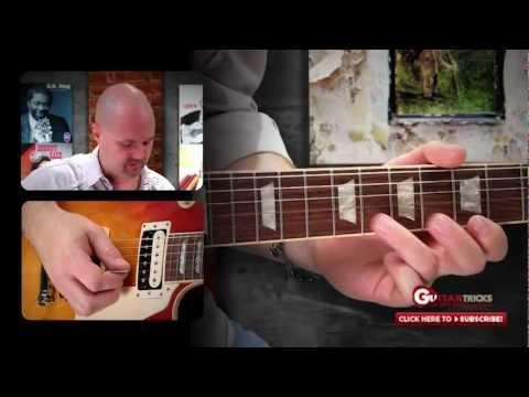 Unison Guitar Bends – Solo Rock Guitar Lesson – Free Lesson – Guitar Tricks