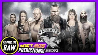 Video NXT TAKEOVER CHICAGO PREDICTIONS! WWE 205 Live & NXT Review & Results (Going In Raw Podcast) MP3, 3GP, MP4, WEBM, AVI, FLV Juni 2018