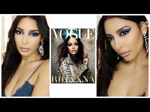 Rihanna Vogue Arabic Inspiration⎜Collection FENTY GALAXY ❤︎