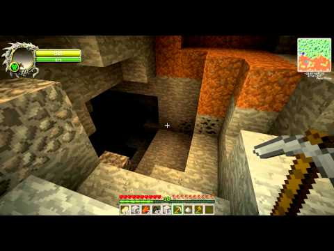 Minecraft Modded Survival Episode 4 - Hit the skeleton with gunpowder why don't you!
