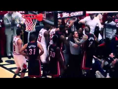 Chicago Bulls vs Miami Heat Series NBA Playoffs Conference 2013 Recap_Kosrlabda legjobb videk. Sport of USA