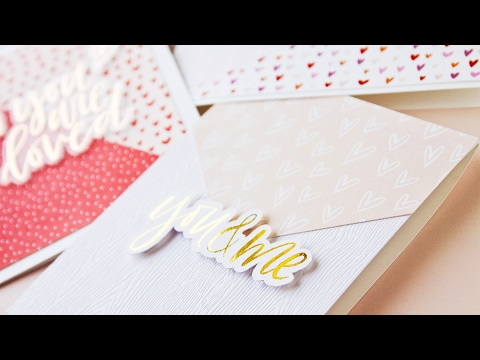 Clean & Simple Hybrid Cardmaking (Printable Patterns + Silhouette Die Cutting)