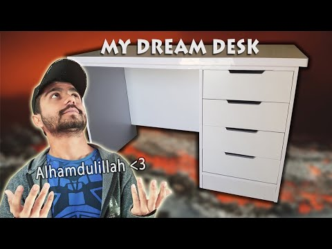 Computer table | My Dream Desk for Gaming and Video Editing