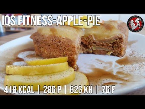 Proteinreicher Apfelkuchen | Post Workout Rezept