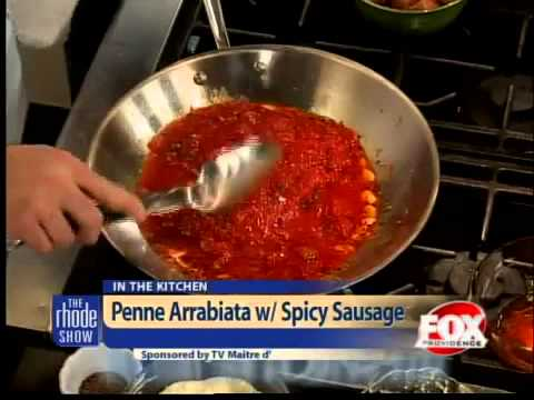 Cooking: Penne Arrabiata with Spicy Sausage