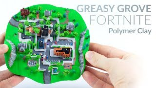 Video Greasy Grove (Fortnite Battle Royale) – Polymer Clay Tutorial MP3, 3GP, MP4, WEBM, AVI, FLV Januari 2019