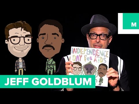 Jeff Goldblum Reads a Children  s Book Version of the 1996 Independence Day