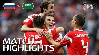 Video Russia v Saudi Arabia - 2018 FIFA World Cup Russia™ - MATCH 1 MP3, 3GP, MP4, WEBM, AVI, FLV Juli 2018