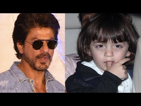 AbRam Khan's Cute Reaction After Watching Dad Shah
