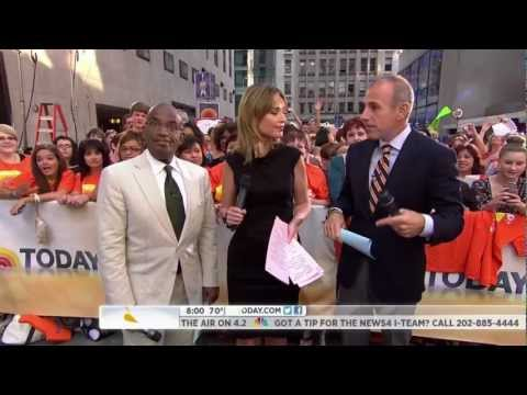 Al Roker Frozen on the Today Show