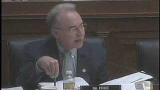 Rep. Tom Price admonishes govt-takeover of healthcare