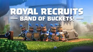Clash Royale: Introducing Royal Recruits! (New Card!)