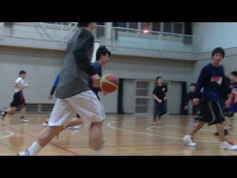 稲田中バスケ(17.03.05)その2