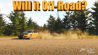 Forza Horizon 2 Will It Off-Road? Lifted Audi RS4