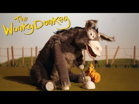 donkey - Wonky Donkey song unofficial music video Craig Smith animation.