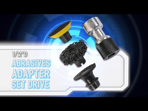 Abrasive Adapter Set