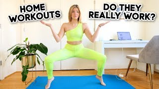 I Tried 5 Days Of At Home Workouts by Monica Church