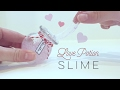DIY Love Potion Slime - Pink Glitter Slime