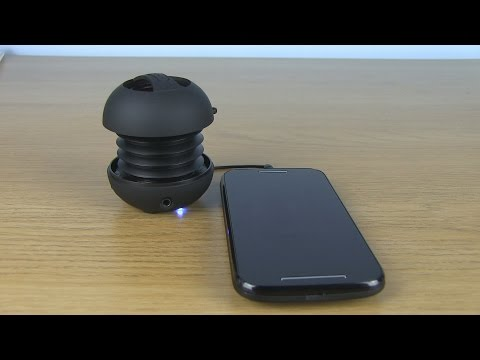 XMI X-Mini II Capsule Speaker | Unboxing and Review | HD