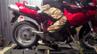 8. Ducati Multistrada 1000DS on Dynocom DC-POD`s, dyno run.