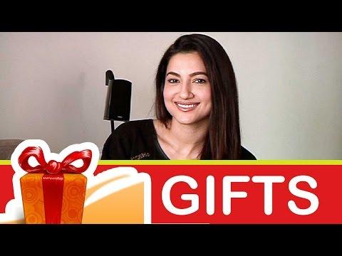 Gauahar Khan's gift segment!-02