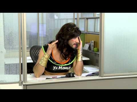 Super Yo Mama Girl Calls Tech Support - Who's Your Daddy now? Bonus Scene ...