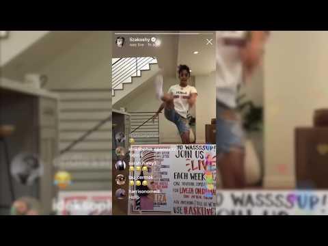 Liza Koshy dancing to I Like It by Cardi B