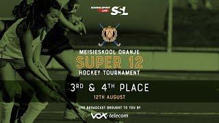 Oranje Super 12 Hockey Tournament St. Anne's  VS Menlopark