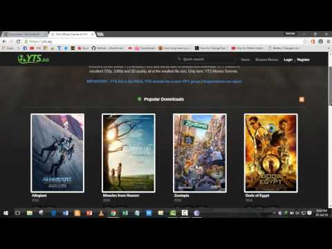 How To: Download HD(720p And 1080p) Movies Using BitTorrent/uTorrent [YTS.AM] YIFY