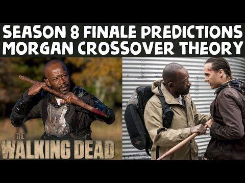 TWD Season 8 Finale Morgan Crossover into FearTWD Season 4 Predictions!