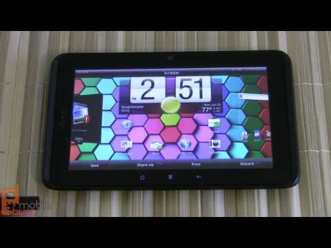 HTC EVO View 4G tablet (Sprint) feature tour - part 2 of 2