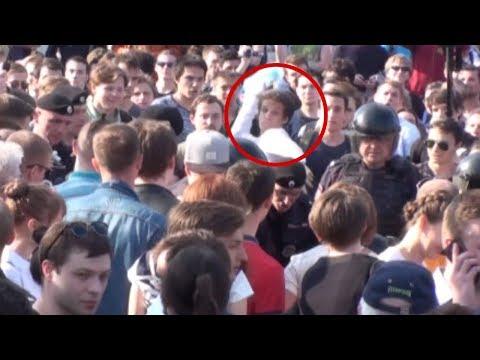 Драки и беспорядки 5 мая. Видео с виновными