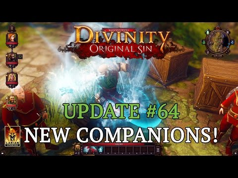 update - Kickstarter Update: https://www.kickstarter.com/projects/larianstudios/divinity-original-sin/posts/982419 Two new companions have arrived in Rivellon! In this update we get to know both of...