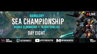[Vainglory Sea Championship] Sea Championship Round 8| Day 8 | Caster : Junky, tin công nghệ, công nghệ mới