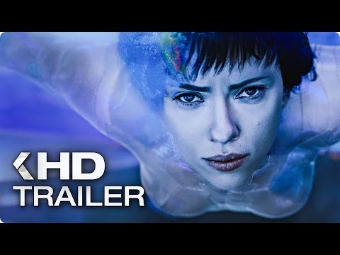 GHOST IN THE SHELL Trailer 3 (2017) (видео)