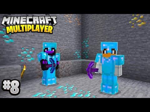 LUCKY MINING TRIP in Minecraft Multiplayer Survival! (Episode 8)