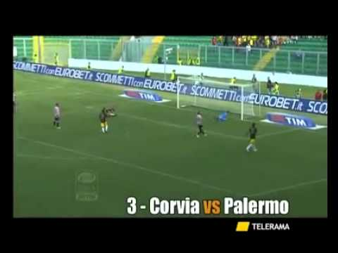 LECCE – La top five goal 2010-2011