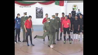 إنطلاق البطولة العسكرية بين المدارس لكرة القدم داخل القاعة بالبليدة