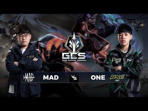 MAD Team vs ONE Team - Tuần 9 Ngày 1 - GCS Mùa Xuân 2019 - Thời lượng: 3:06:15.
