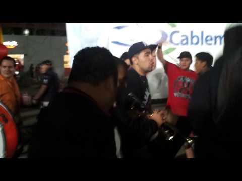 La Masakr3 Entrada aguanta corazonXolos Vs UANL - La Masakr3 - Tijuana
