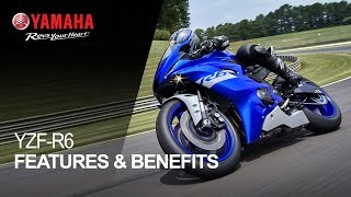 10. Yamaha YZF-R6 Features & Benefits