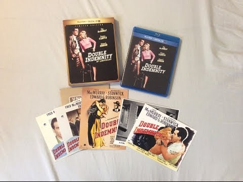 Double Indemnity: Limited Edition (1944) - Blu Ray Discussion Review And Unboxing