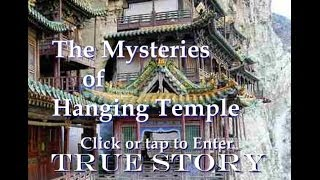 Hanging Temple Story Of Healing Magic Buddhist Temple In China; Om Mani Padme Om Mantra