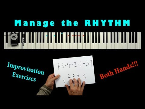 Rhythmic Jazz Exercises - Coordinate Left & Right Hand