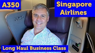 Video Singapore Airlines A350 Long Haul Business Class MP3, 3GP, MP4, WEBM, AVI, FLV Oktober 2018
