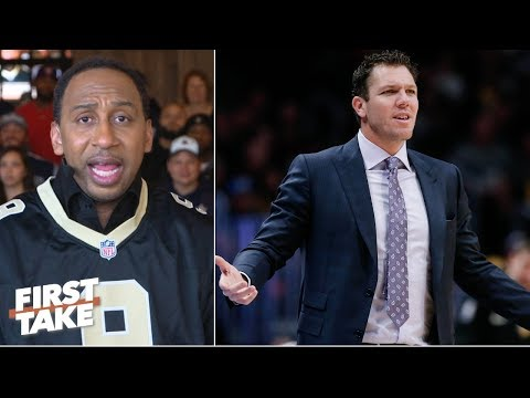 Will Magic Johnson intervene if LeBron James keeps ignoring Luke Walton? | First Take