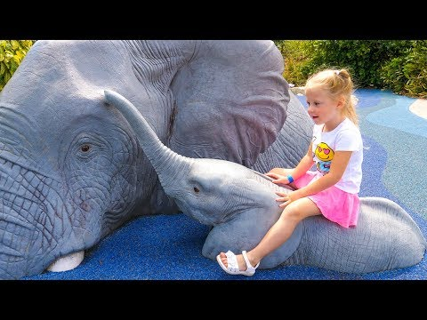 Сборник видео для детей Путешествия в зоопарки разных стран. Самые запоминающиеся моменты из наших поездок...